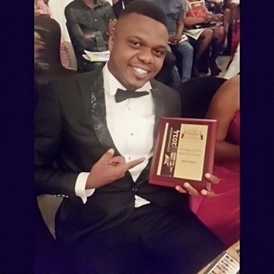Ken Erics Male actor of the year 2014