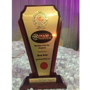 Ken Erics 2017 City people Award